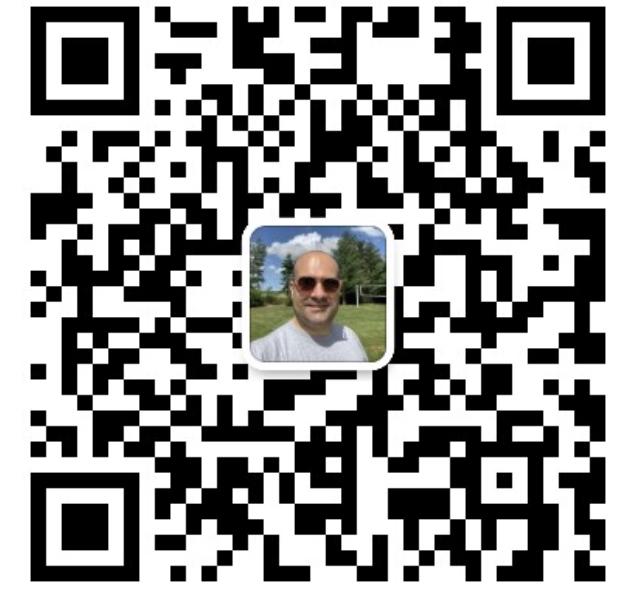 WeChat ID QR-code Thomas Oudart
